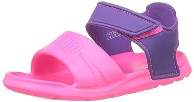 8daf89963865e4 Puma Unisex-Kinder Wild Sandal Injex PS Low-Top Knockout pink-Electric  Purple