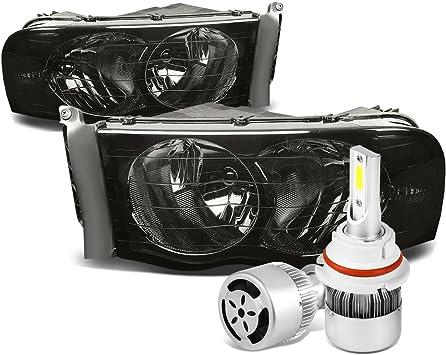 9007+9006 LED Headlight Kit High//Low Beam For Dodge Ram 1500 2500 3500 2002-2005