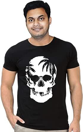 FMstyles Skull Design Black Unisex Tshirt FMS338