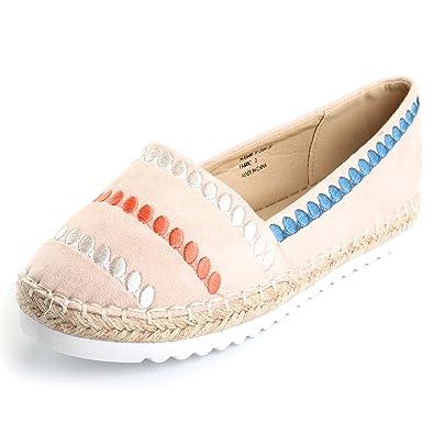 2b2ba8bdc Amazon.com | Alexis Leroy Women's Closed Toe Casual Platform Slip On ...