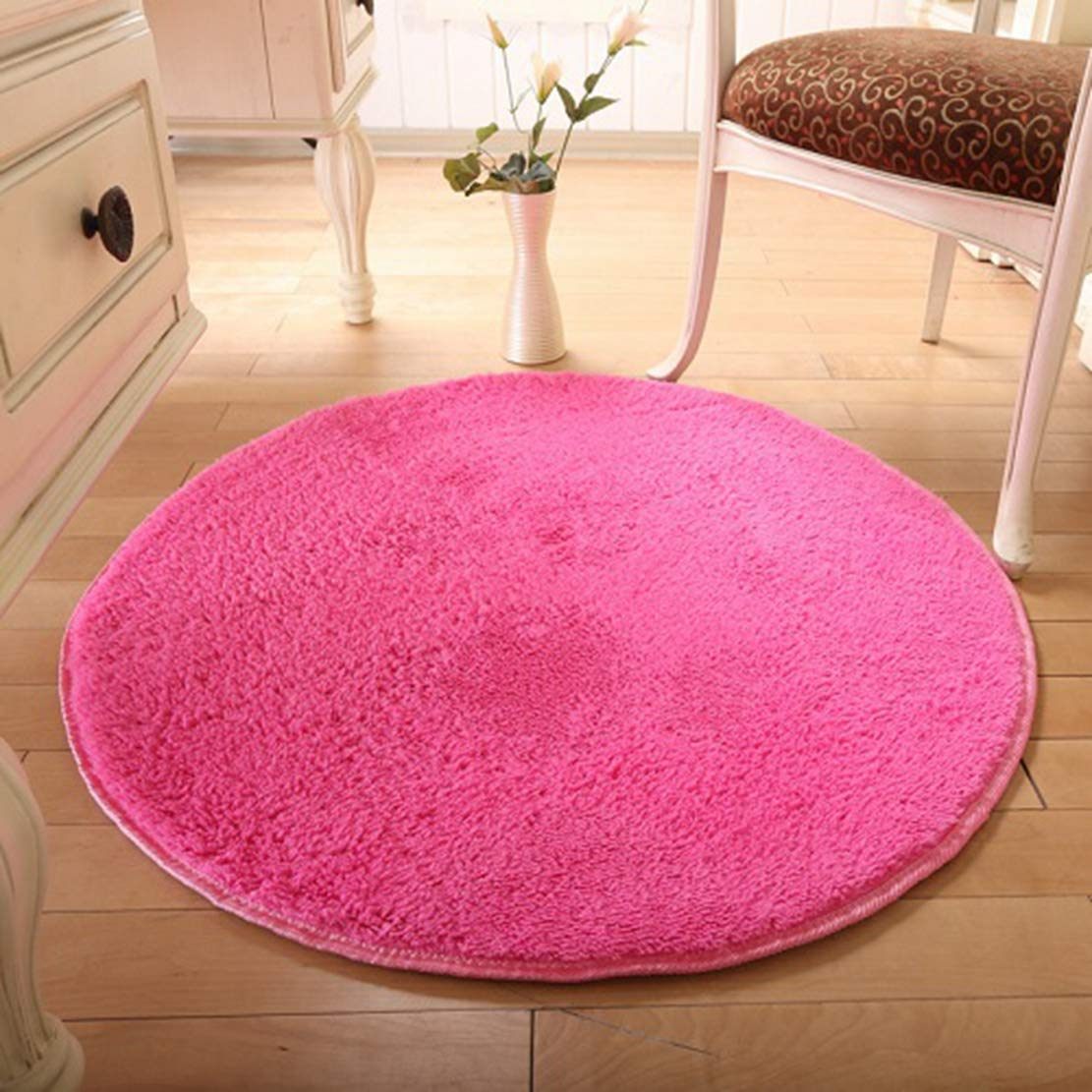 Amazon.com: 6-Size Solid Carpet Big Round Thicker Door ...
