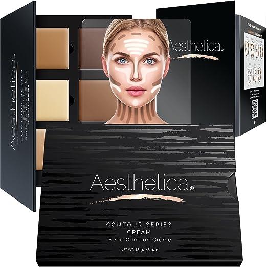 26 opinioni per Set trucco crema di contouring e polvere illuminante Aesthetica Cosmetics-