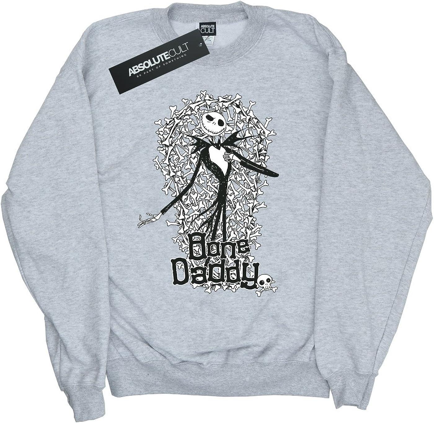 Disney Girls Nightmare Before Christmas Bone Daddy Sweatshirt