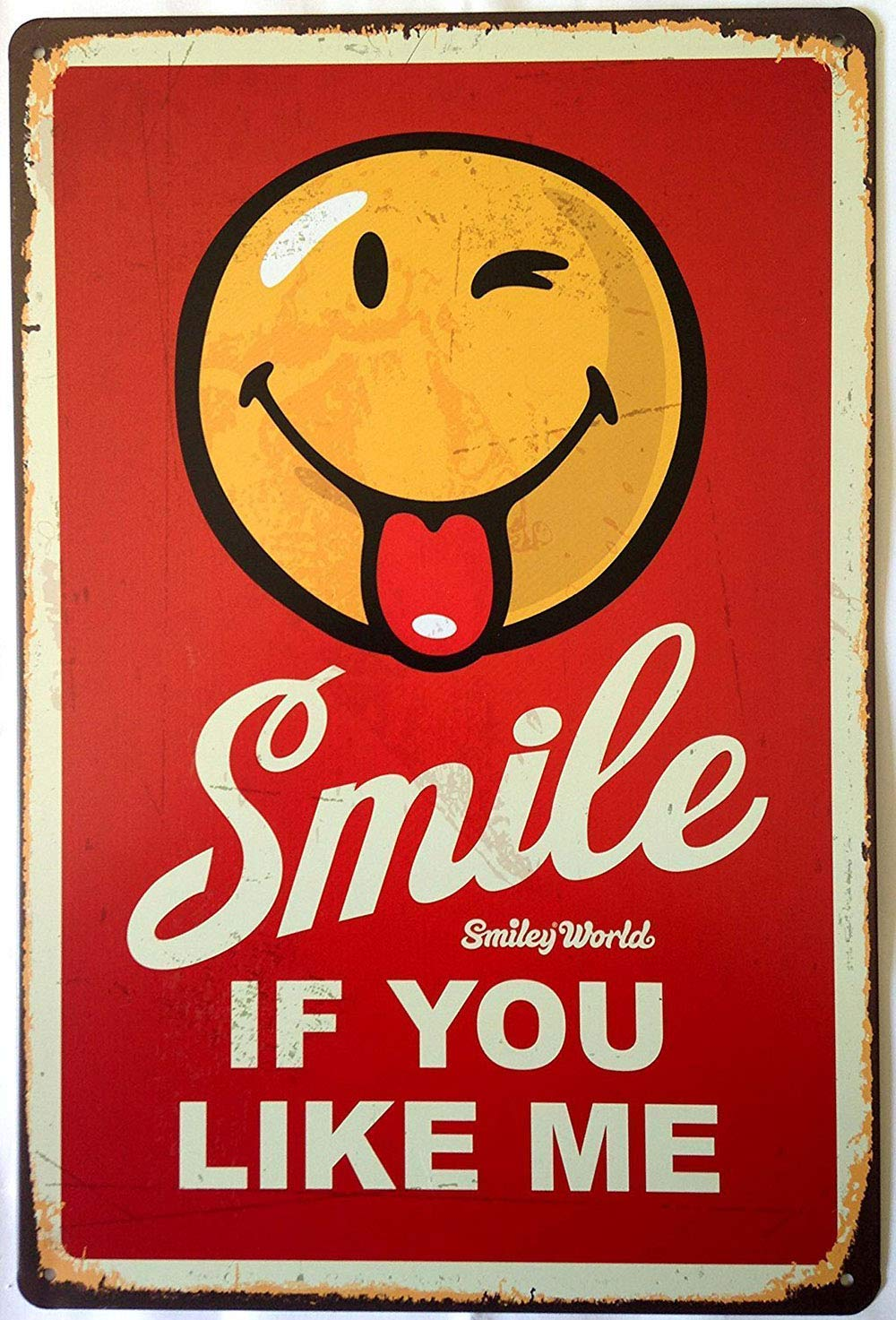 Jesiceny Great Tin Sign Aluminum Please Report to Thechool Office Upon Arrival Outdoor /& Indoor Sign Wall Decoration 12x8 INCH