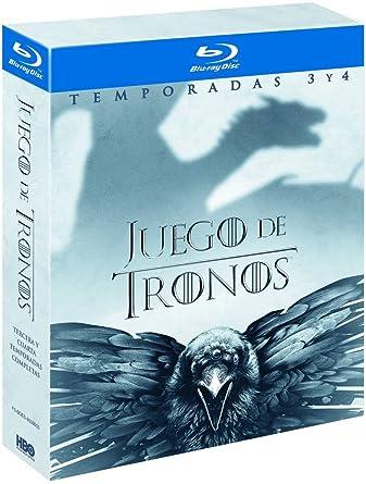 Pack Juego De Tronos Temporada 3-4 Blu Ray [Blu-ray]: Amazon.es ...