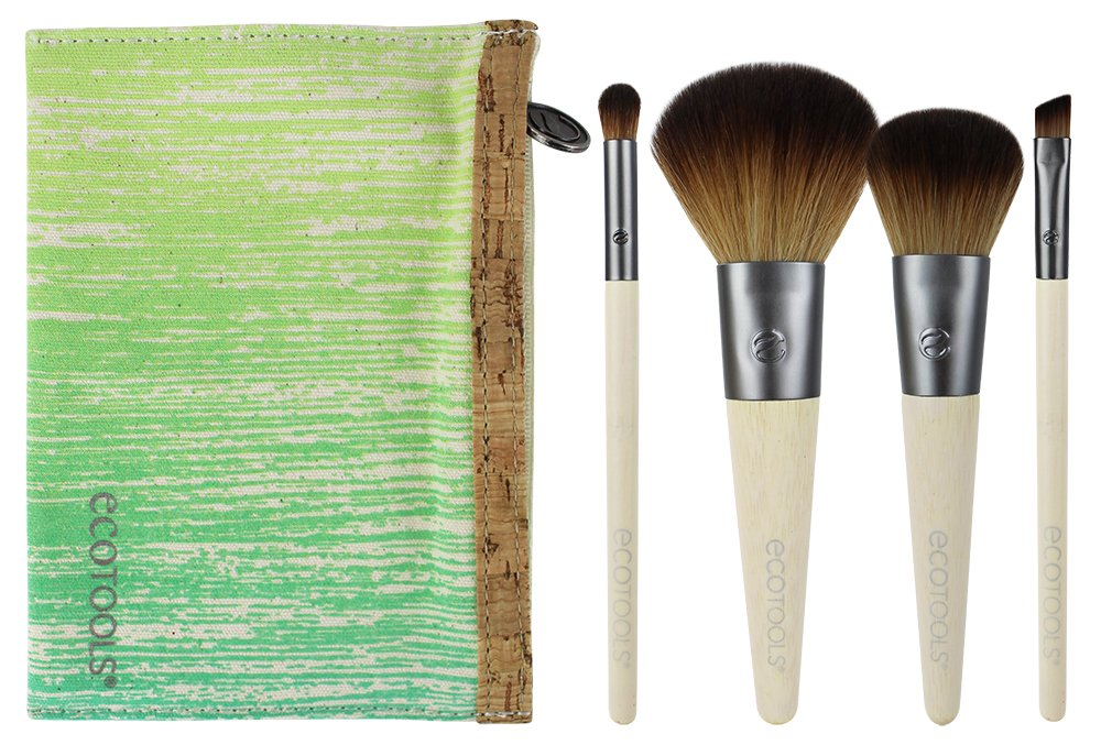 EcoTools 5 Piece Travel Brush Set (Packaging May Vary)
