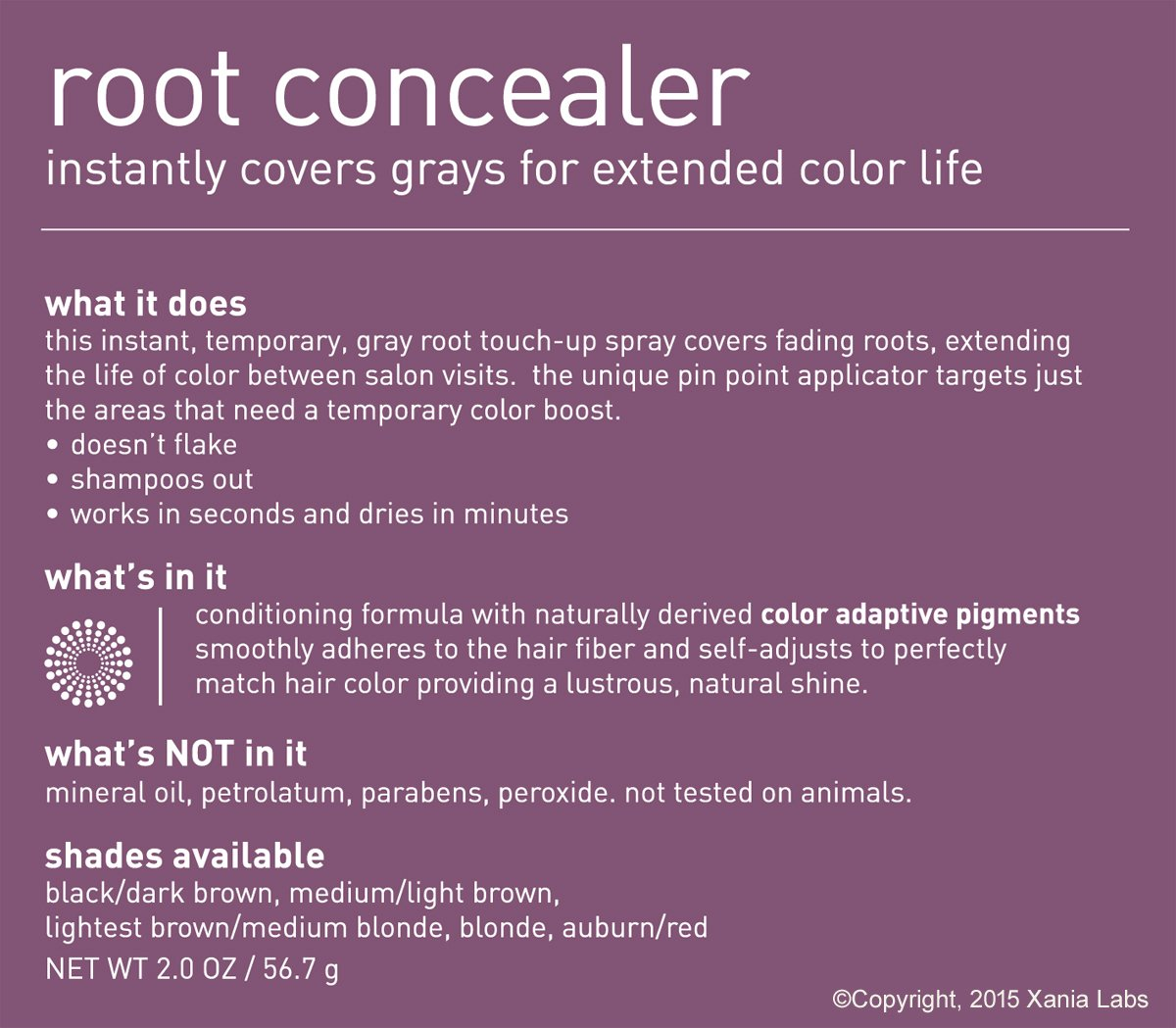 Amazon.com: Root Concealer (Medium/Light Brown) 2oz by Style Edit ...