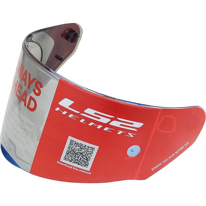 LS2 FF353 Integralhelm Motorrad Helm mit Iridium oder Dunkles ...