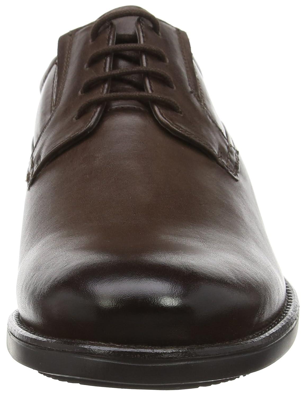 Clarks Herren Hopton Walk (Walnut Derby Braun (Walnut Walk Leder) 632d29