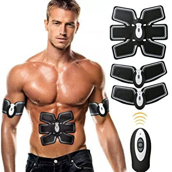 Echoice Muscle Stimulator 6 MODES with 10 Clases Electronic Muscle Toner Abdominal Machine For Men Women