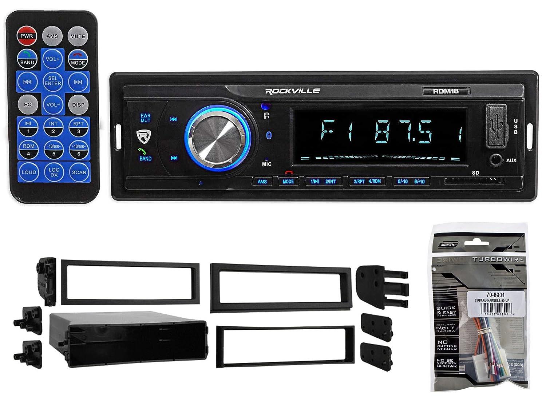 Amazon.com: Digital Media Bluetooth AM/FM/MP3 USB/SD Receiver Radio for 00-04  Subaru Outback: Car Electronics