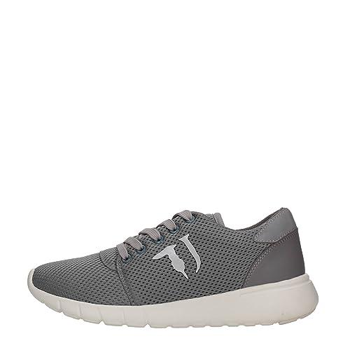 Trussardi Jeans 79S222 Nero Blu e Grigio Sneakers Donna Scarpa Sportiva   Amazon.it  Scarpe e borse 8dbaa56d399