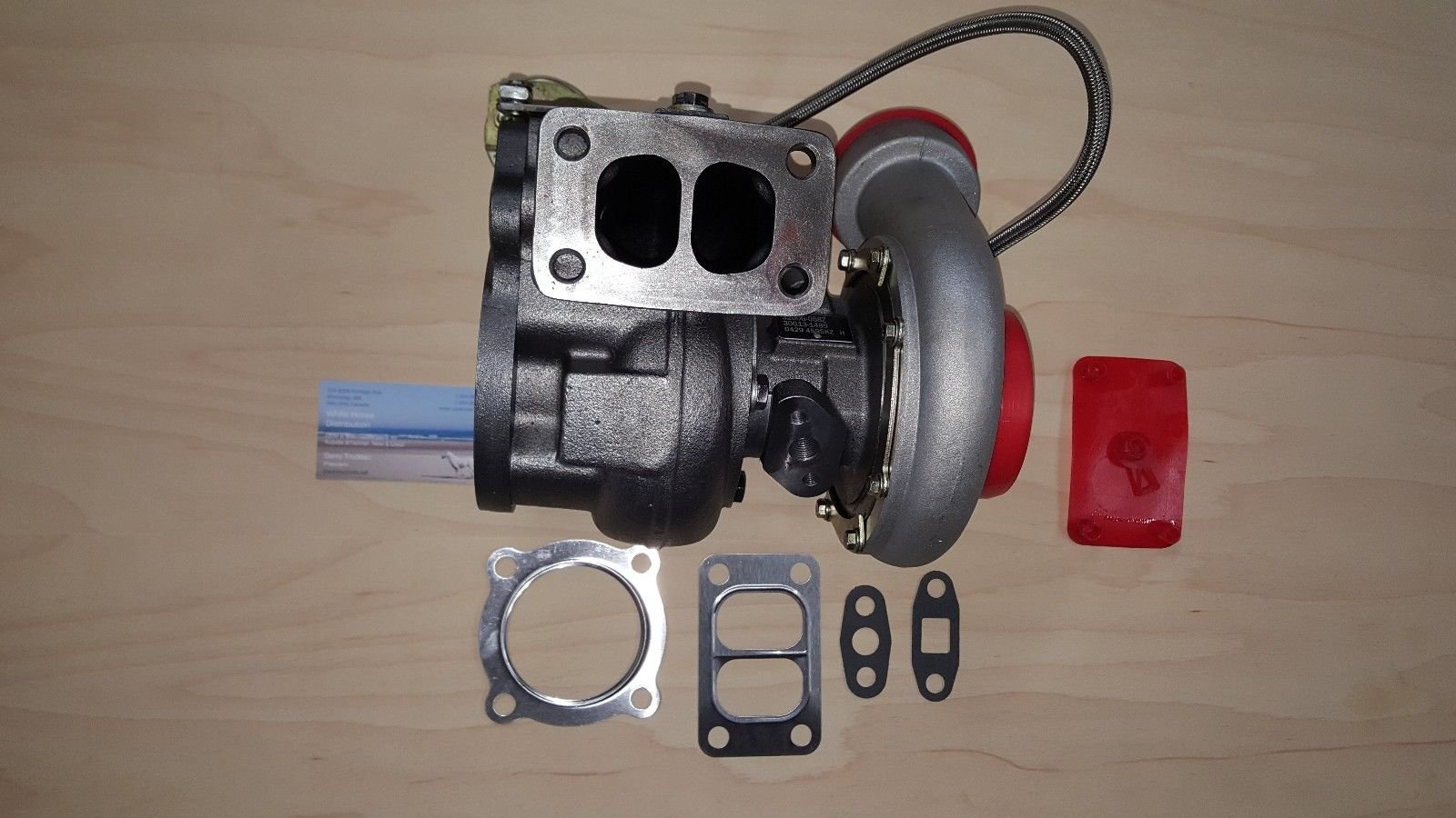 NEW Turbo for Volvo L110E, L110F, L120E, L120F, D7E NO CORE CHARGE by WHDT
