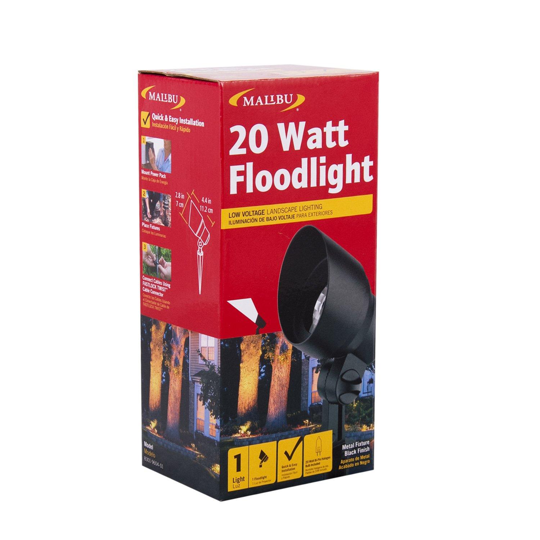 Malibu 20 Watt Floodlight Low Voltage Landscape Lighting