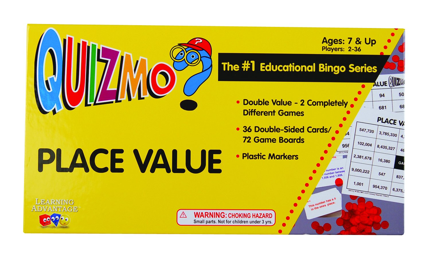 place value quizmo BINGO games