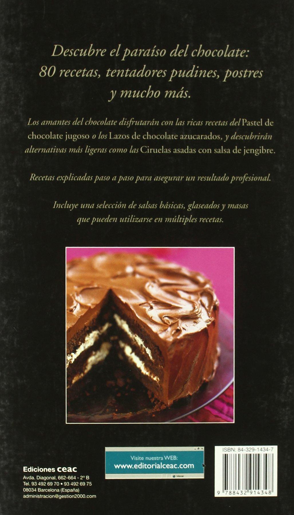 Pecados de chocolate/ Chocolate Sins: Recetas Dulces Y Sabrosas (Spanish Edition): Joanna Farrow: 9788432914348: Amazon.com: Books
