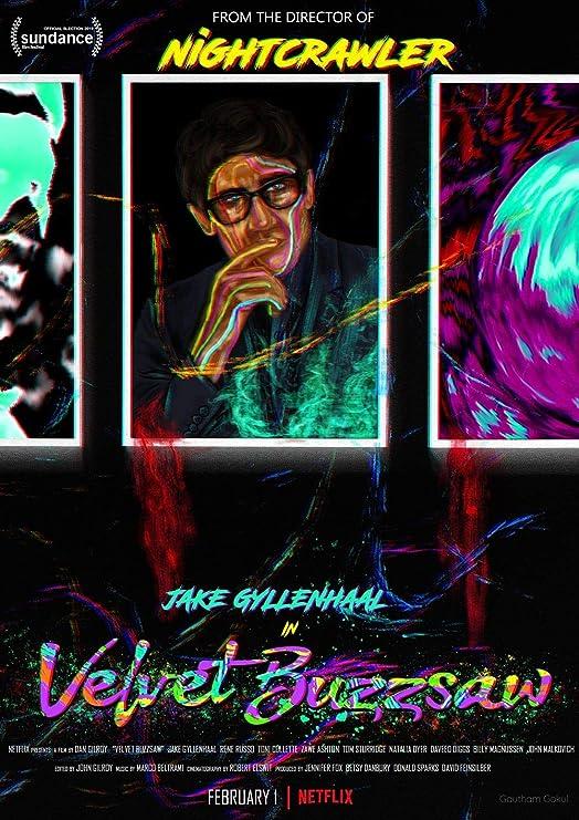 Lionbeen Velvet Buzzsaw Movie Poster Cartel de la Pelicula ...