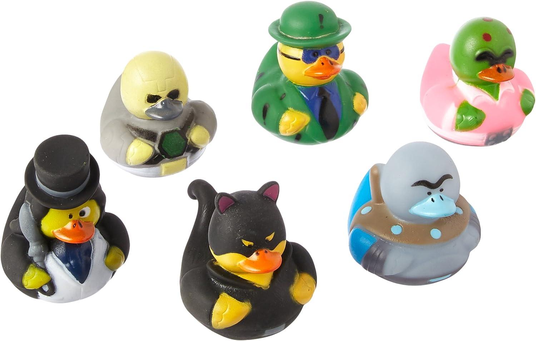SUPER VILLIAN RUBBER DUCKIES - Toys - 12 Pieces