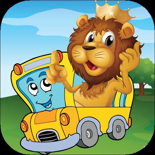 Animal Car Puzzle -