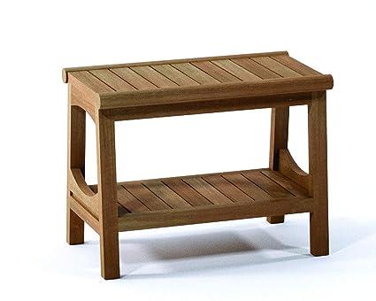 Super Amazon Com Spateak Grade A Teak Wood Perth Shower Seat 24 Caraccident5 Cool Chair Designs And Ideas Caraccident5Info