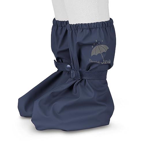 buy online 78752 96d92 Sterntaler Regen-Überschuh Baby Footies wasserfest in dunkelblau 0-24 Monate