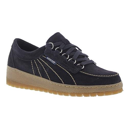 Mephisto Womens Lady Blue Velour Shoes 4 UK