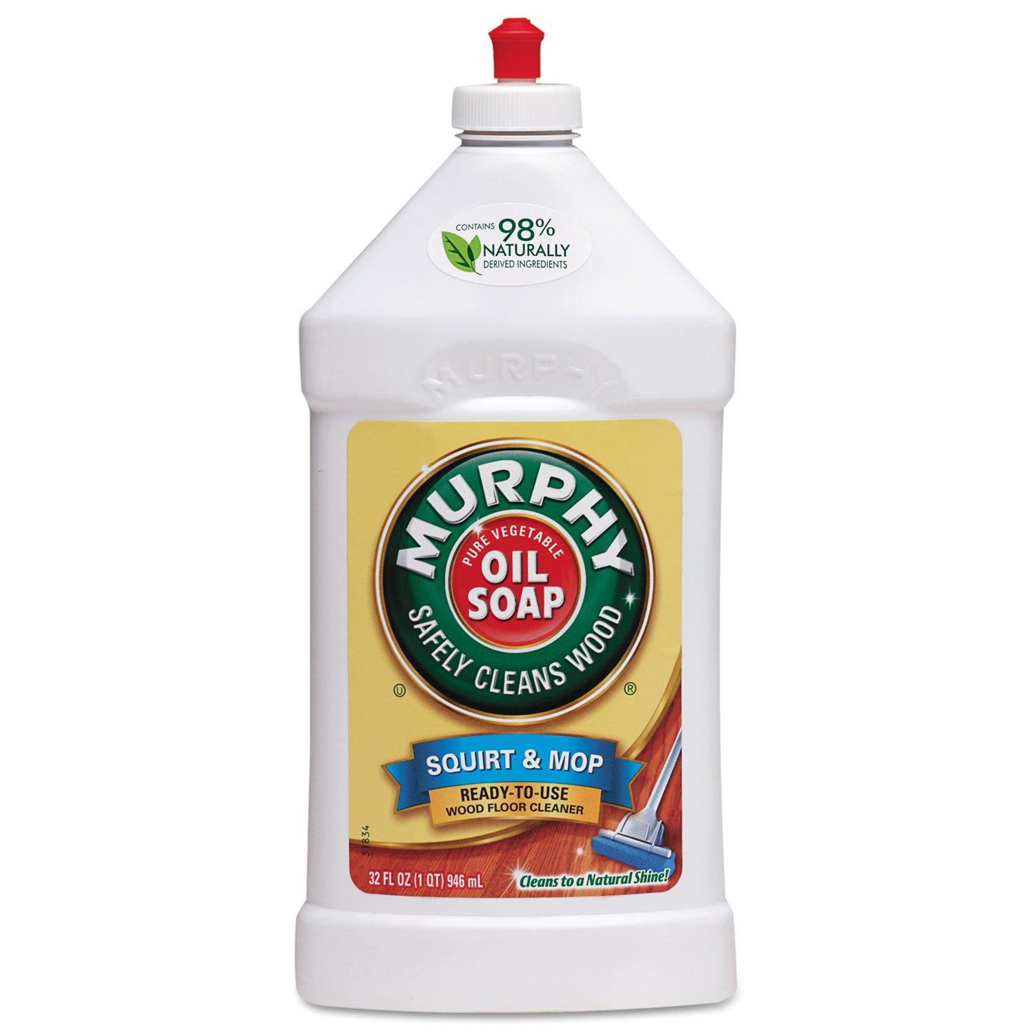 Murphy's Oil Soap Squirt and Mop Ready To Use Wood Floor Cleaner, 32 Oz by Murphy's B00122EZ5Q