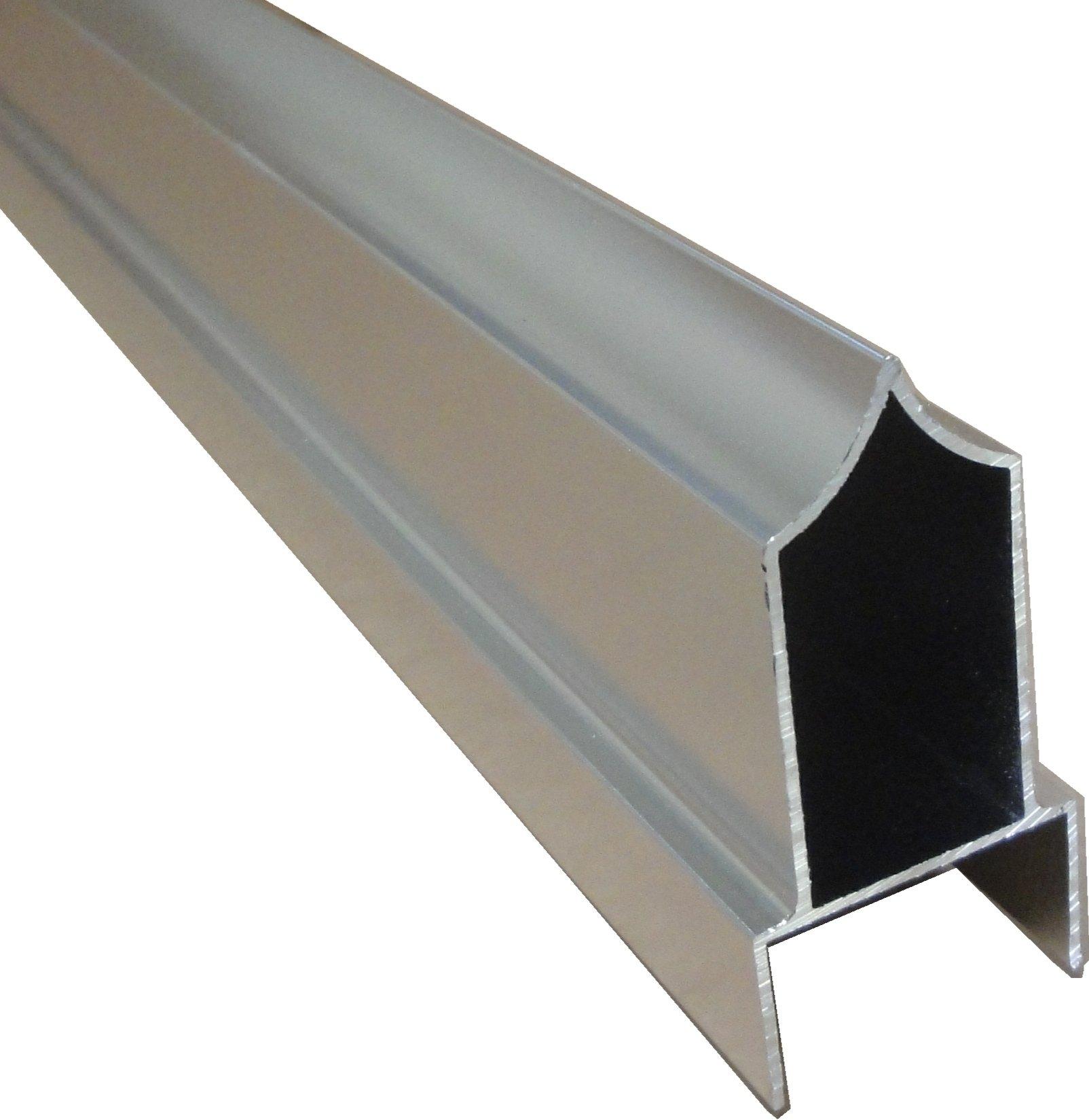 Sanymetal 13352 Anti-grip Headrail, 48''