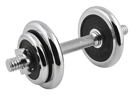 TS Exclusiv 10 kg mancuernas de acero Pesas 2 x 2,5 kg 2 x
