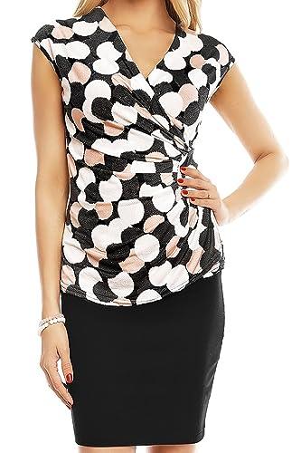 Fashion - Camisas - Wickelbluse - para mujer