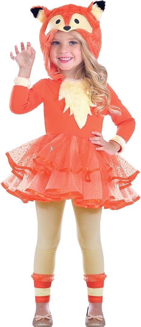 Disfraz de Zorro Infantil para niñas (4-6 años): Amazon.es ...