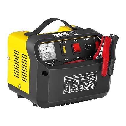 MSW Cargador de batería Coche S-CHARGER-20A.2 (12/24 V ...