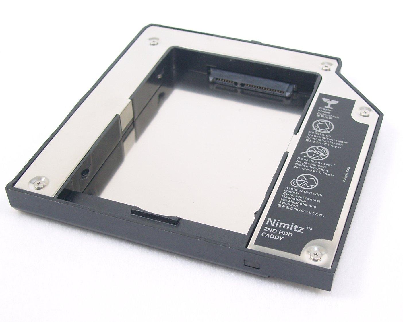 Nimitz 2nd Hdd Ssd Hard Drive Caddy For Lenovo Thinkpad T420 T430 T510 T520 T530 W510 W520 W530 Computers Accessories