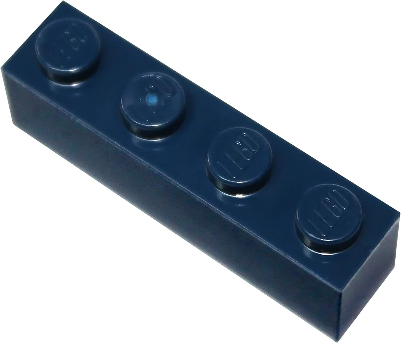 LEGO Parts and Pieces: Dark Blue (Earth Blue) 1x4 Brick x200