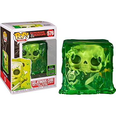 Funko Pop! Dungeons and Dragons Gelatinous Cube Shared Sticker ECCC 2020 Exclusive: Toys & Games