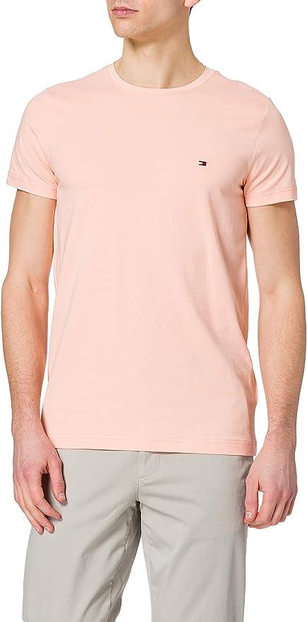 TALLA 3XL. Tommy Hilfiger TH Stretch Slim Fit tee Camiseta para Hombre