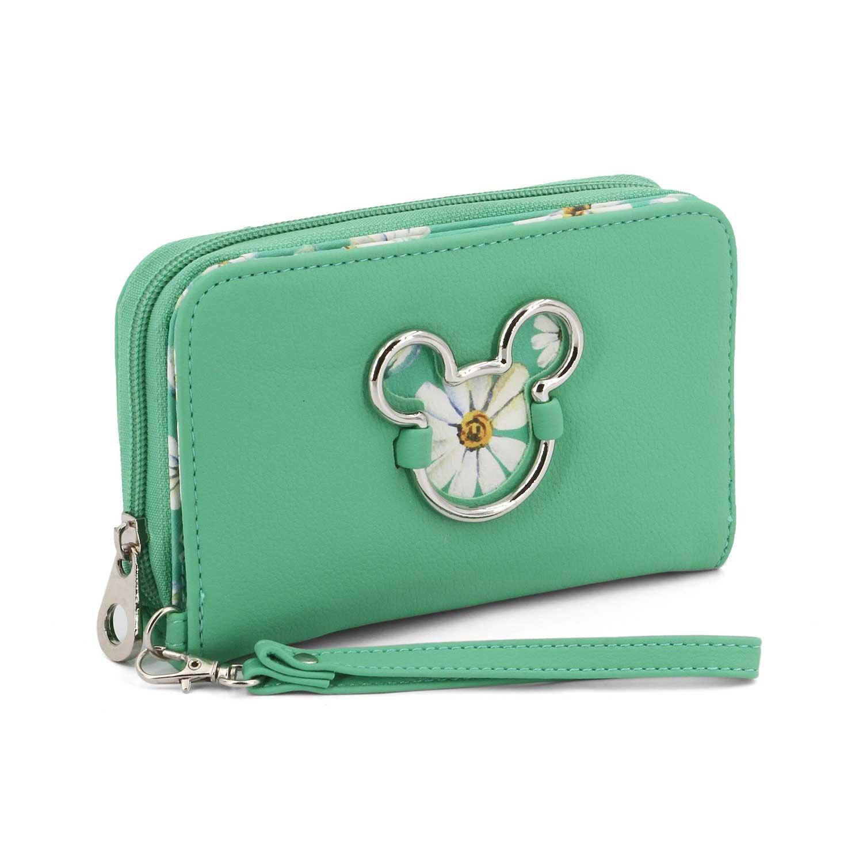 Disney Mickey Aqua wallet   B07B7BQ4P2