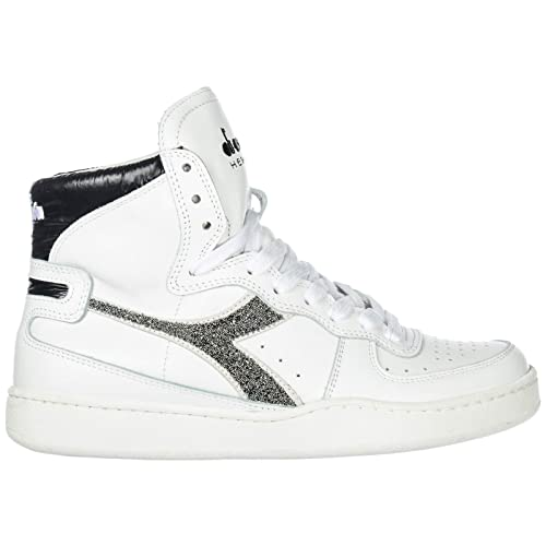 f0cade030f DIADORA HERITAGE Women's Shoes high top Leather Trainers Sneakers MI ...