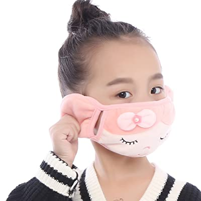 Brave Tour Warmer Mask Anti Dust Anti-fog Windproof Earmuff for Girls Boys