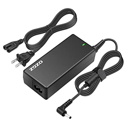 Amazon Com Zozo 65w 19v 3 42a Ac Laptop Power Adapter Charger
