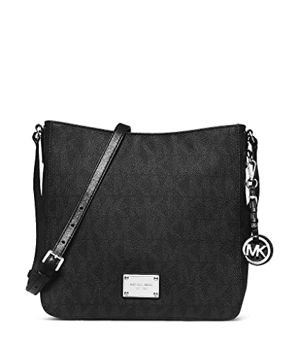 840f1382409 Amazon.com  Michael Kors Jet Set Travel Messenger BLACK  Michael ...