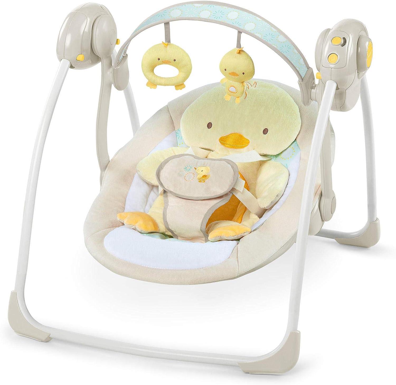 Ingenuity, Columpio Plegable Soothe 'n Delight - Quack & Cuddles