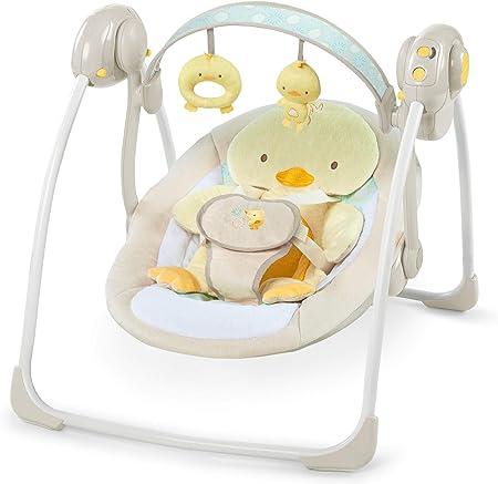 Hamacas unisex infantil,Columpio portatil pollito (ing10241),Comfortrecline el asiento de 2posicion