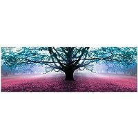 LOLAhome Cuadro cabecero de Cama en diseño Lienzo 150x50 cm (Arbol de la Vida)