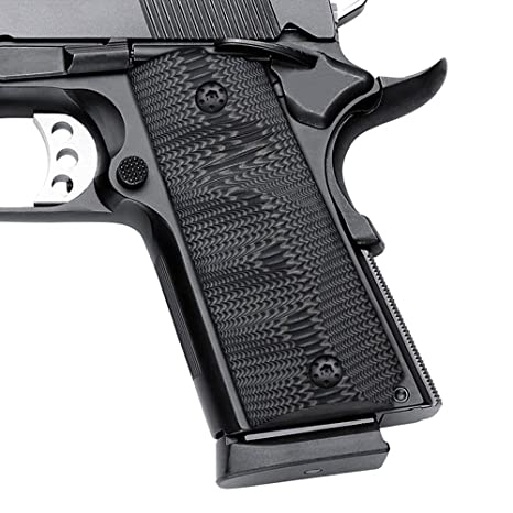 EXEL Cool Hand 1911 G10 Grips, Compact/Officer, for Left and Right Handed
