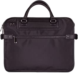Tutilo Mens Designer Briefcase Work Handbag With Laptop Sleeve