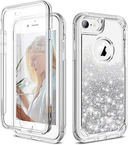 Estuche//cubierta para a prueba de golpes para Apple iPhone 7 Plus//Protector De Pantalla//Gel híbrido