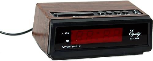 Equity by La Crosse30010 LED Alarm Clock