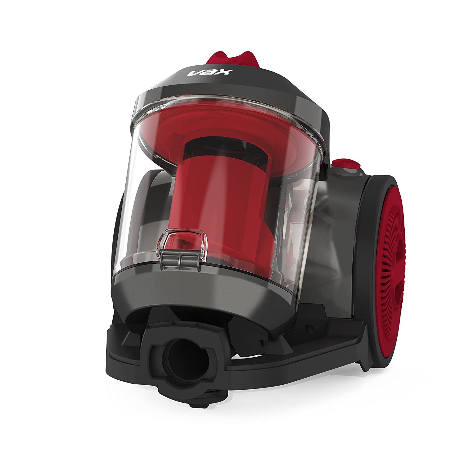 Vax CCMBPCV1T1 Power Compact Total Home Vacuum Cleaner, 2.2 Litre, 800 W, Red [Energy Class A] Vax LTD