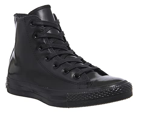 53c87ee3eebb3a Converse Chuck Taylor Ct All Star Hi Top Trainers Rubber Black Womens UK3.5  547254C D130  Amazon.co.uk  Shoes   Bags